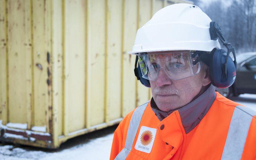 Veitsiluodon paikallispalvelupäällikkö Arto Ollitervo sanoo, että HCT-kuljetusten järjestämiseen kaikkine lupineen ja keskusteluineen meni noin vuosi.
