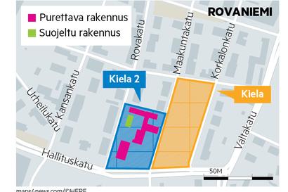 Rovaniemellä pohditaan, onko rakennettavan alueen eli Kielan toisen osan myyminen vuokraamista parempi vaihtoehto