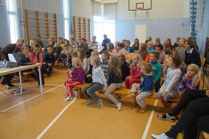 Yli sata esikoululaista aloittaa Pudasjärvellä