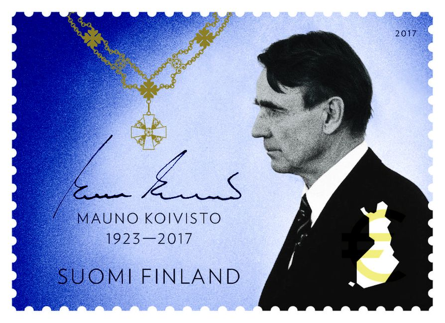 Presidentti Koiviston muistoksi julkaistaan surumerkki.