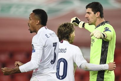 Manchester City ja Real Madrid juhlivat välieräpaikkoja - Dortmundin ja Liverpoolin urakka päättyi Mestarien liigassa