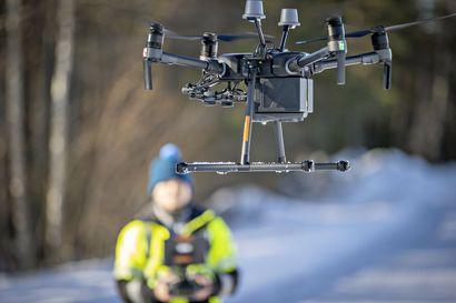 Oulun ympärille on tulossa iso droonien testialue, jatkossa drooneja saattaa viuhua taivaalla entistä enemmän tutkimustarkoituksessa