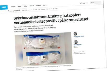 Vialliset maskit aiheuttivat teho-osaston hoitajan sairastumisen Tromssassa