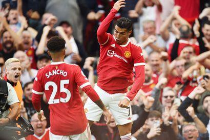 Ronaldolla unelmapaluu ManU-paitaan – Pukin Norwichille tappio jumbokamppailussa