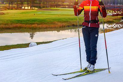 Visa Ski Team jahtaa viestimenestystä Vuokatissa