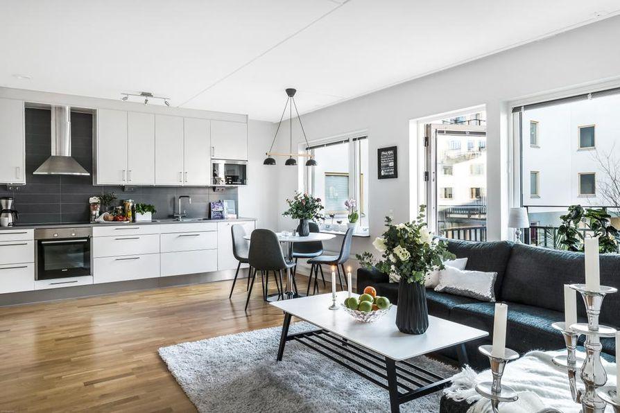 Avokeittiö on nykyisin suosituin keittiömalli suomalaiskodeissa.