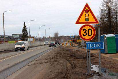 Liikennevalot käyttöön – Iijoen sillan korjaustyöt alkavat loppiaisviikonlopun jälkeen