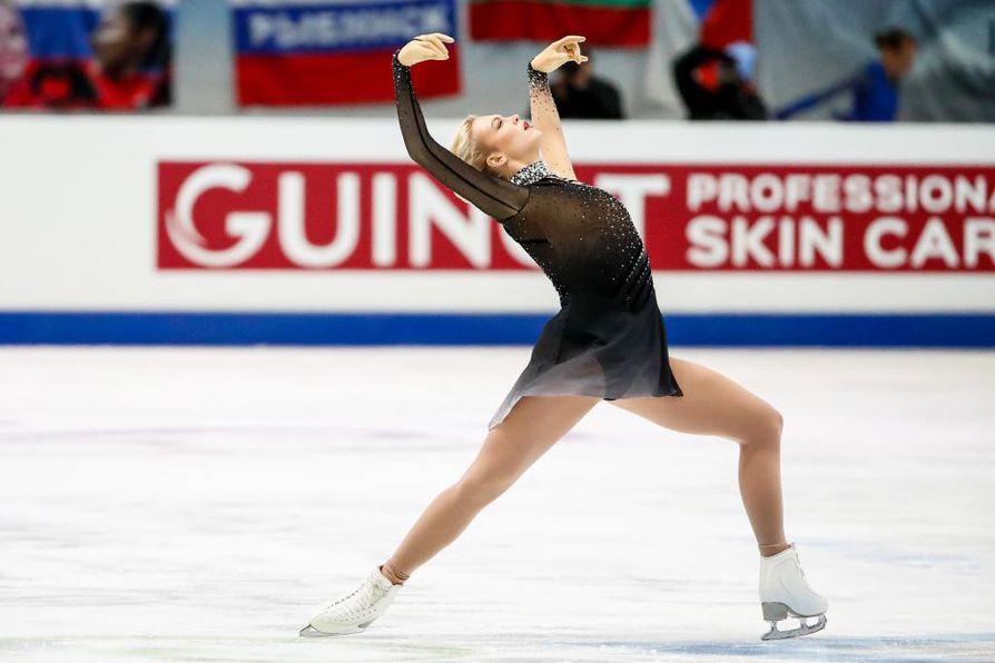 Emmi Peltonen sijoittui viidenneksi taitoluistelun EM-kisoissa.