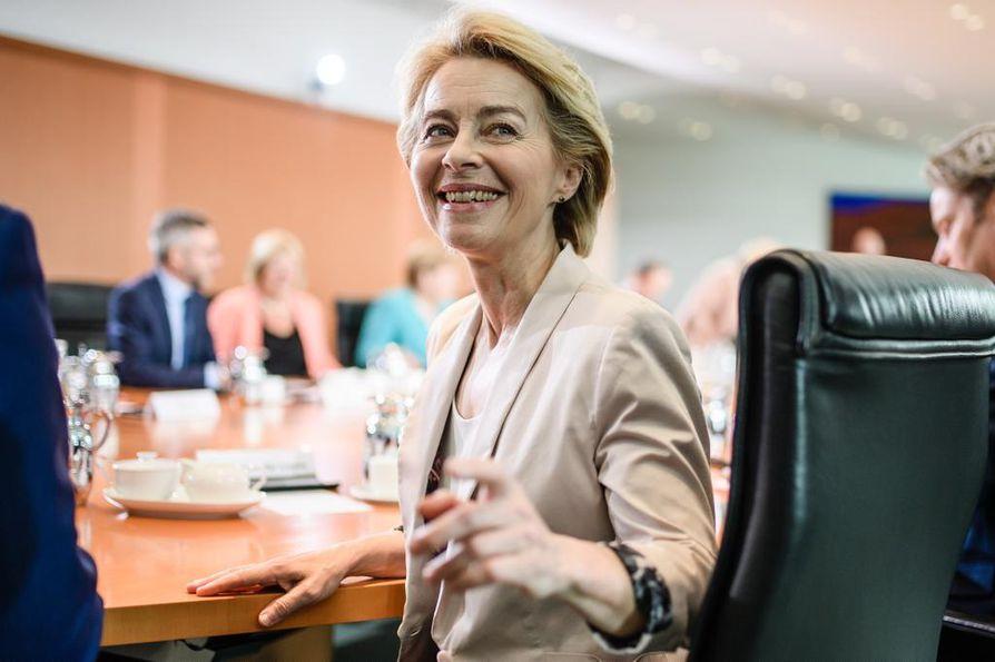 Saksalainen Ursula von der Leyen valittiin Euroopan komission puheenjohtajaksi tällä viikolla.