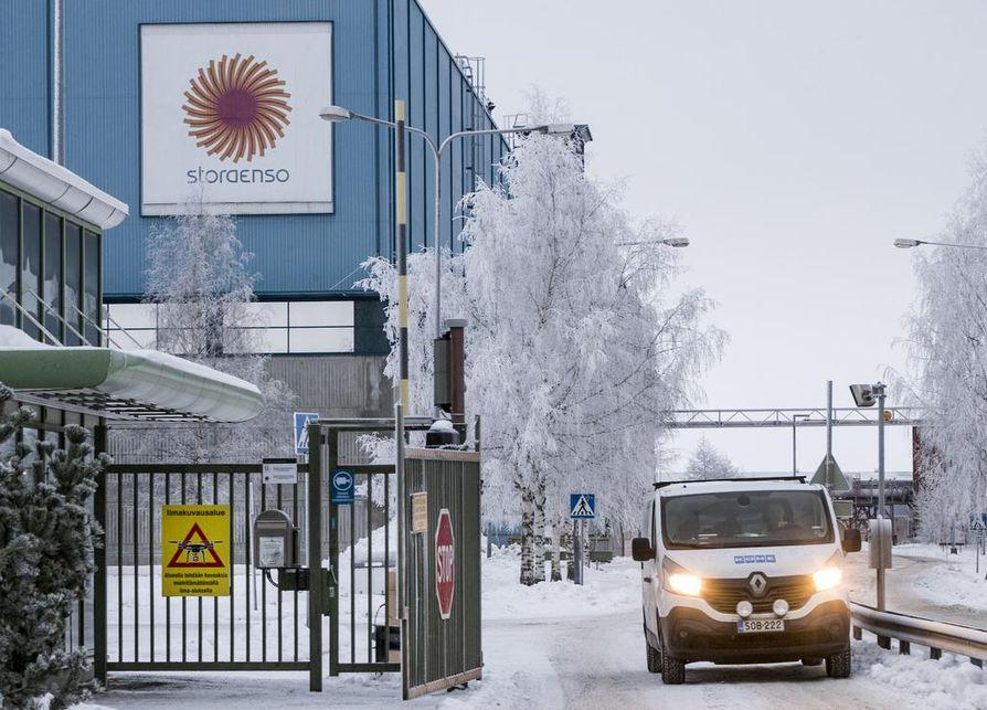Stora Ensolla on tehdas Oulun Nuottasaaressa.