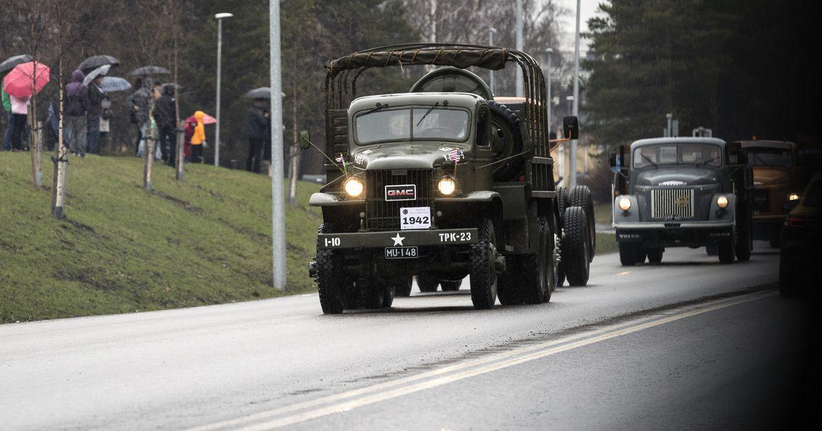 Vanhojen Autojen Kulkue Oulu