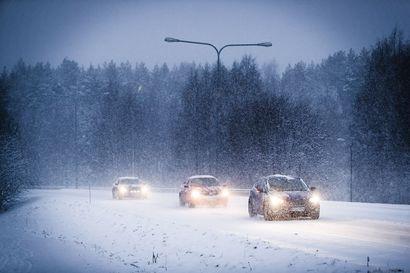 Ajokeli on erittäin huono Etelä- ja Keski-Lapissa –  Katso tästä kootut liikennehaitat ja onnettomuudet