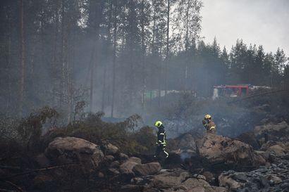 Kalajoen palosta odotettavissa satojen tuhansien tappiot metsänomistajille – Kalajoen seurakunnalla noin 500 hehtaarin palsta paloalueella