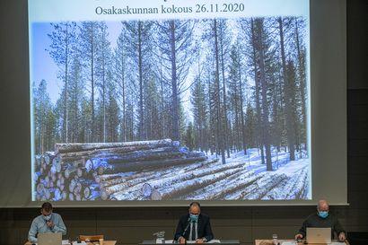 Korona kovertaa Kuusamon yhteismetsää jatkossa pelättyä hellemmin  – ensi vuonna ylijäämää 38 000 euroa  manttaalia kohden, kasvatuslannoitukseen laitetaan iso summa