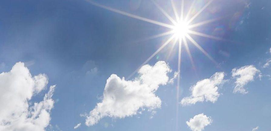 Pohjois-Suomessa UV-säteilyn kesäkuukausien kokonaiskertymä oli noin neljä prosenttia tavanomaista alhaisempi.
