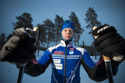 Mannilan Laurin suksi ei meinaa liikkua riittävän rivakasti - nuori hiihtäjä on paininut koko kauden mystisen ongelman kanssa