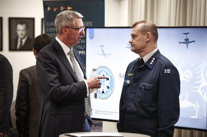Eurofighter lupaa itsenäisen hävittäjäjärjestelmän, jossa kaikki valta ja tieto ovat Suomella