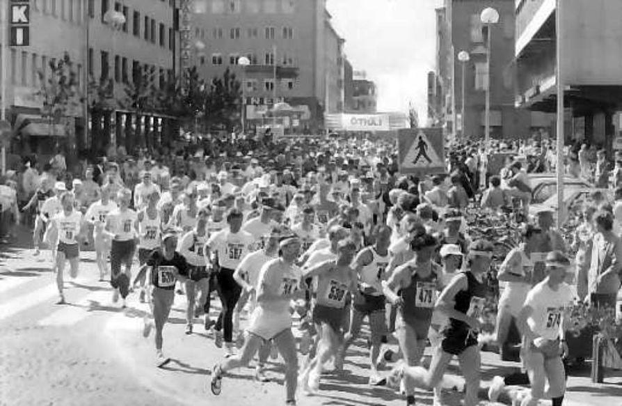 Alkumatka . Ensimmäinen Oulu-maraton juostiin kesällä 1989. Parin viimeisen vuoden aikana tapahtuma on kasvanut valtakunnan suurimpiin.