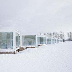Kemin Lumilinnan majoitusrakennukset saivat palkinnon