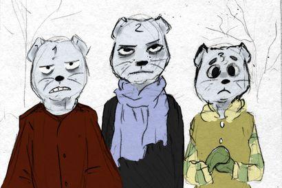 """Taidekoululla valmistuu """"Limingan ihme"""" -sarjakuva, joka kertoo Juha Hurmeen tekstin pohjalta sisällissodan tapahtumista Limingassa"""
