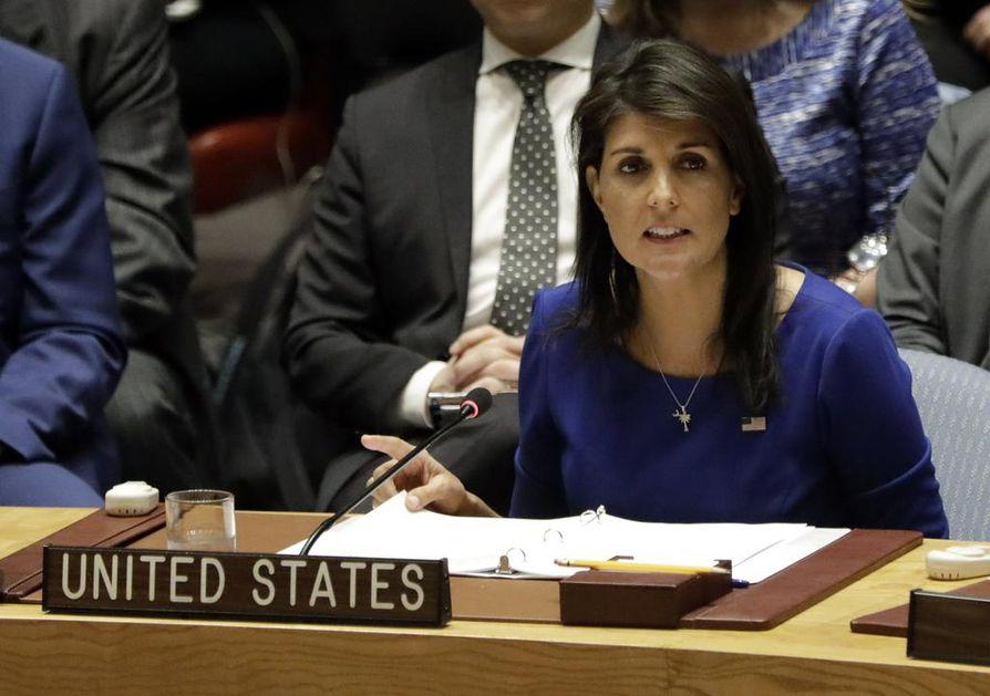 Yhdysvaltojen YK-lähettiläs Nikki Haley kertoi viikonloppuna, että Yhdysvallat aikoo määrätä lisää pakotteita Venäjää vastaan.