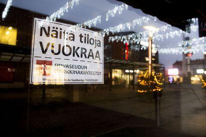 Tyhjien liiketilojen määrä kasvaa Rovaniemellä, mutta pahin lienee vasta edessä