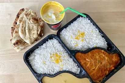 Syömässä: Intialainen take away on lounasta hintavampi