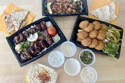 Syömässä: Makua ja silmänruokaa syyrialaisittain