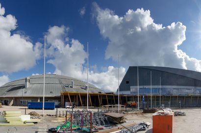Peruskorjattu Ouluhalli avautuu maanantaina, laajennusosa valmistuu keväällä