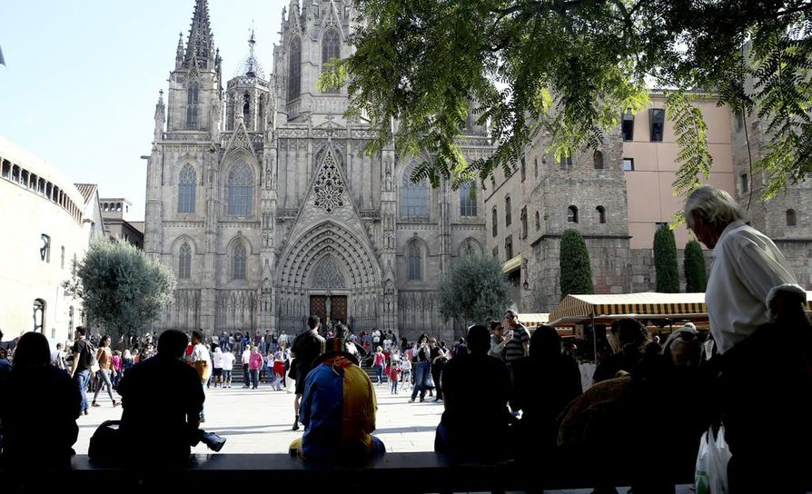 Sunnuntaina Barcelonassa on luvassa ainakin Espanjan yhtenäisyyttä kannattavien mielenosoitus.