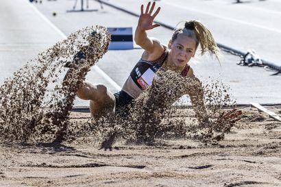 Kuivasjärven Auralla riveissään lupaavia urheilijoita, mutta mitalitasolle kehittyminen ottaa aikansa