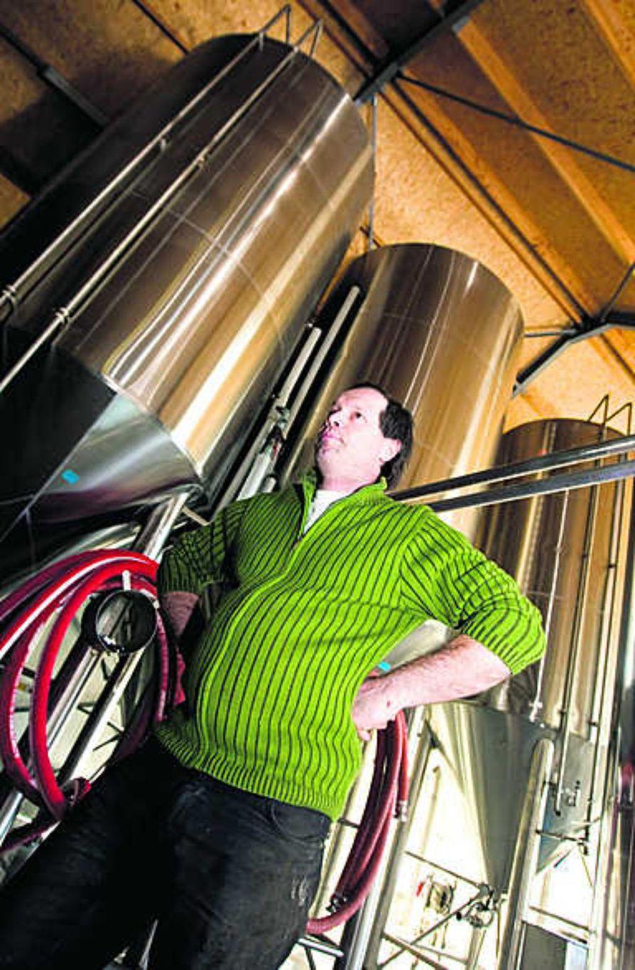 Hugues Van Poucke aikoo lanseerata 14 terveyttä edistävää   olutta vielä tämän vuoden aikana.