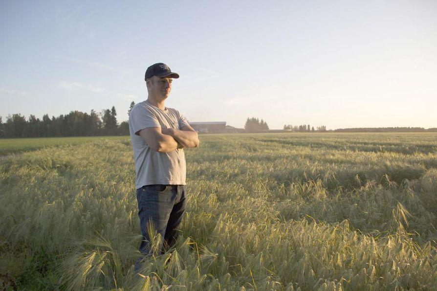 Juha Niskanen on nivalalainen maanviljelijä.