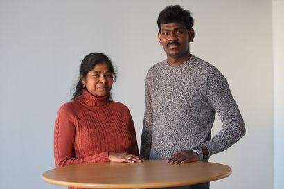 Nisha Kogulathasilla on yksi tutkinto Sri Lankasta: Nyt hän jatkaa opintojaan Raahessa