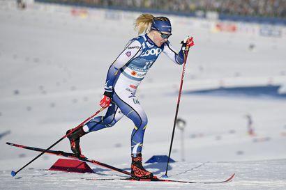 Ruotsin Jonna Sundling voitti naisten sprintin selvällä erolla – miehissä Norjaan kolmosvoitto