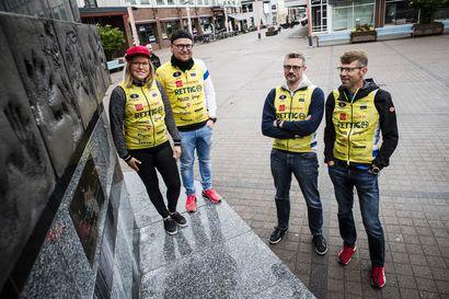 Pariisin sijaan Rovaniemelle –Pyöräilyjoukkueen matka kesti viisi päivää