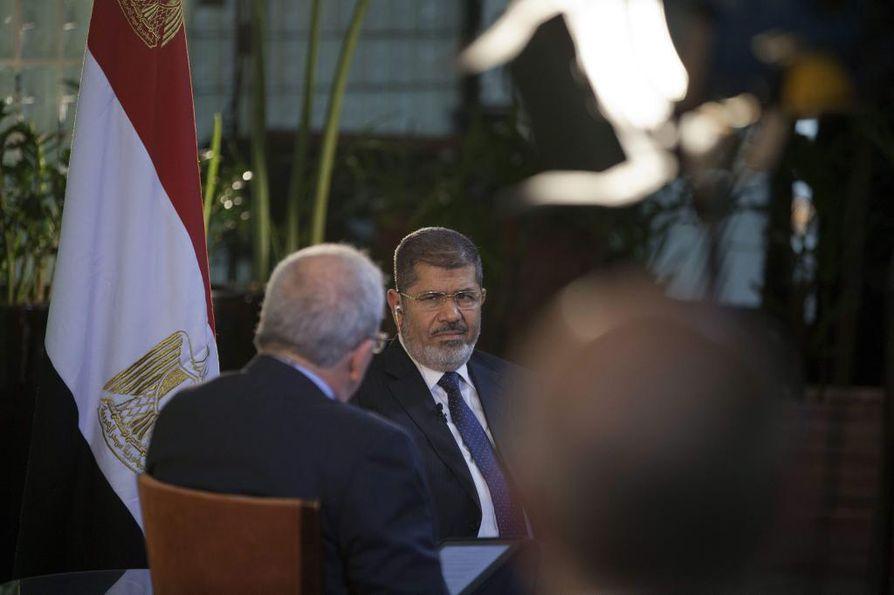 Egyptin presidentti Mohamed Mursi vierailulla Brasiliassa aiemmin kesällä.
