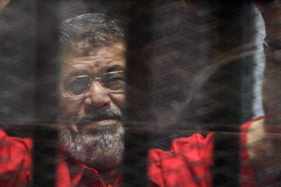 Mohammed Mursi oli vankilassa heinäkuusta 2013 saakka.