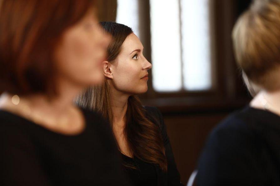 Tamperelainen Sanna Marin nimitettiin torstaina liikenne- ja viestintäministeriksi.