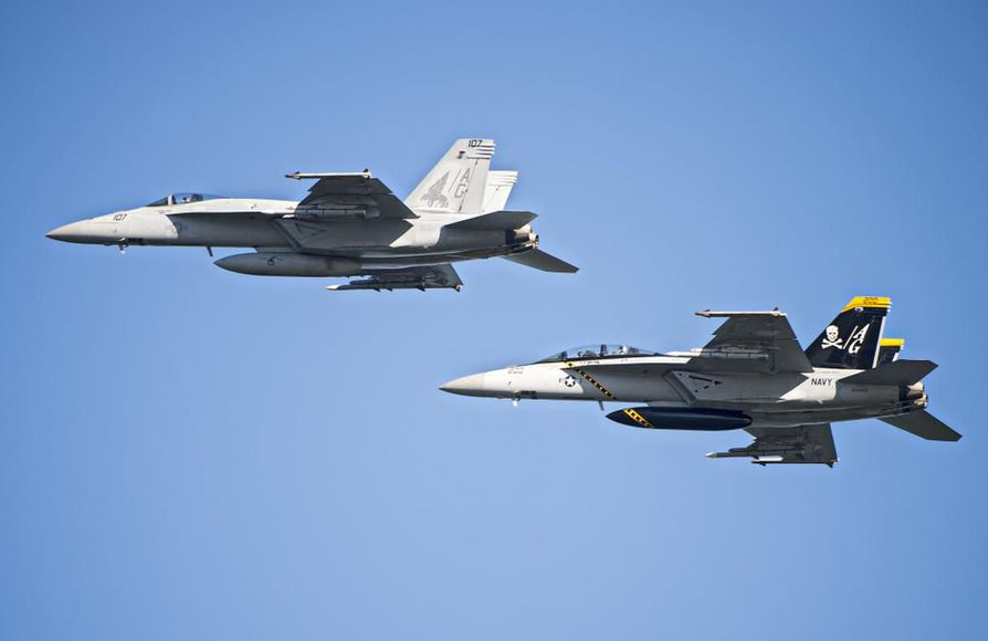 Amerikkalainen Super Hornet on Hornet-perheen tuorein tulokas.