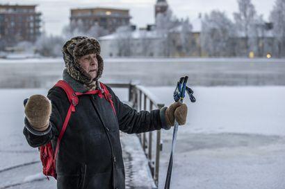 Hyiset säät jatkuvat pohjoisessa – tuuli voi tehdä pakkasesta ajoittain jopa kahdeksan astetta purevampaa kuin lämpömittari antaa ymmärtää
