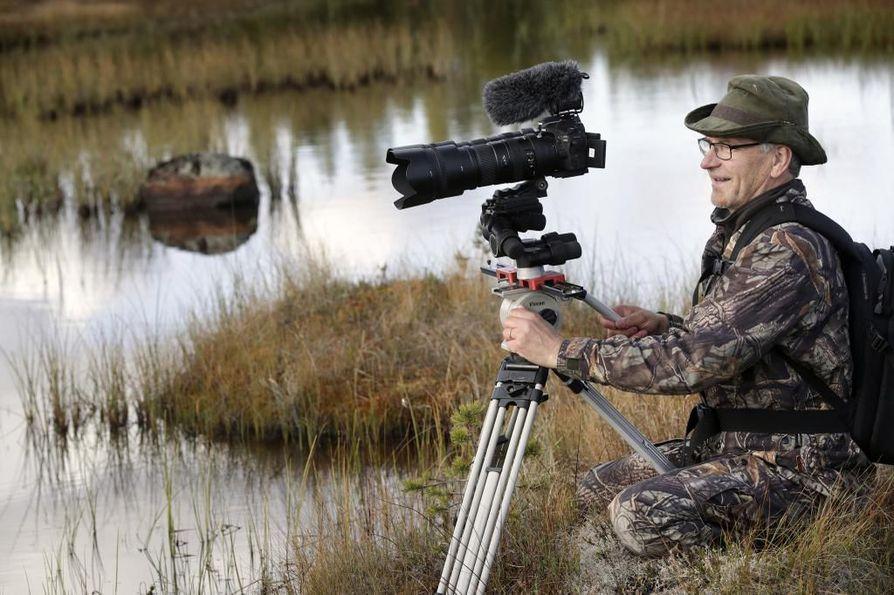 Heino Hanhela on kuvannut luontoa vuosikymmeniä.