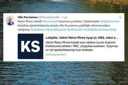 """""""Silja Kononen kantaa huolta, eikä kyseessä ole ainoa yhteydenotto"""", kertoo kansanedustaja Parviainen"""