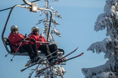 Kaleva: Rukan hiihtotyöntekijät poistuivat hisseiltä