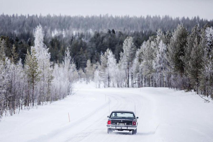 Asko Kallojärvi ei aio luopua lähes 40 vuotta sitten ostamastaan autosta.