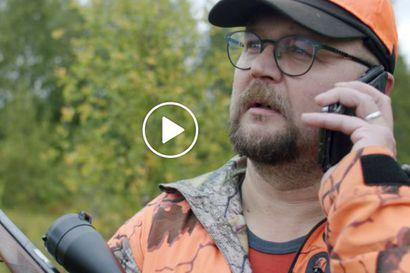 Metsästyksessä näkökyvyn pitää olla kohdillaan – katso video