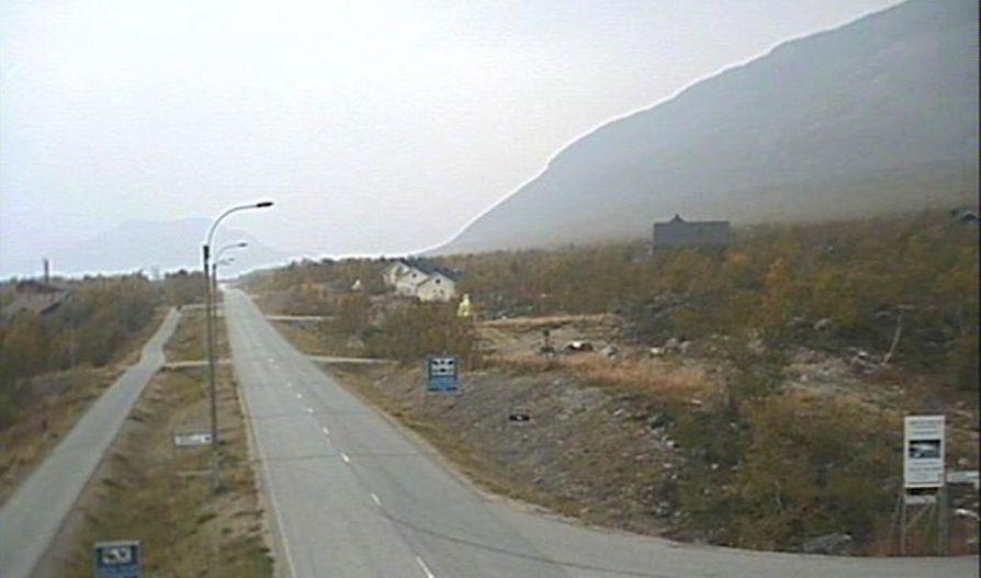 Utuisuutta on havaittu muun muassa Kilpisjärvellä.