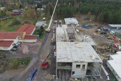 Saaren koulukeskus Pyhäjoella 8.10.2020