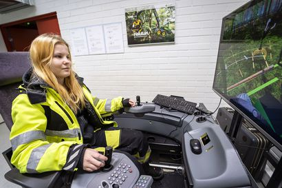 """Miia ja Valtteri löysivät ammatit metsästä ja maalta: """"Isot koneet kiinnostavat."""""""
