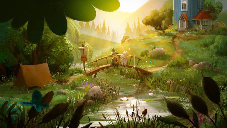 Uusi Muumilaakso-sarja on kuvien perusteella satumaisen kaunis.